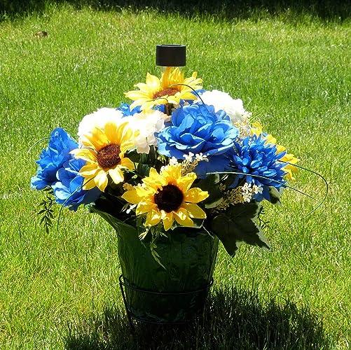 Amazon Com Cemetery Decorations Cemetery Flower Pot Cemetery