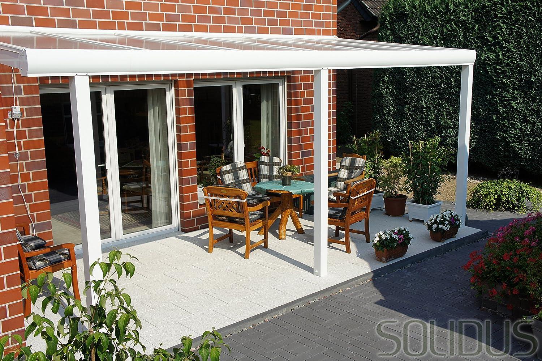 Solidus Tetto per terrazza in alluminio, 400 x 300 cm (L x P ...