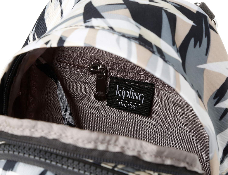 Kipling dam Delia kompakt ryggsäck, 18 x 23,5 x 13 cm Multicolour (Urban Palm)