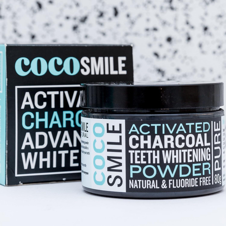 Los dientes de carbón activado en polvo de blanqueamiento | 100 ...