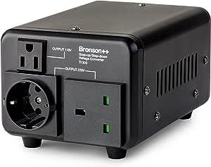 Bronson++ TI 300 - Transformador de 110 Voltios: Amazon.es