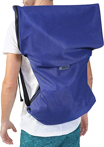 CGear Sand-Free Switch Surfing Backpack All in One Bag and Beach Mat Unfolds Quickly and Easily Features 10 Adjustable Carry Sizes Soft and Lightweight Great for Vacations