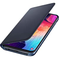 Capa Protetora Flip Wallet Galaxy A50, Samsung, Capa Protetora Para Celular, Preta