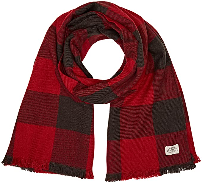 selezione premium 16856 141f9 Levi's Buffalo Plaid Wrap Sciarpa, Nero (Noir Regular Black ...