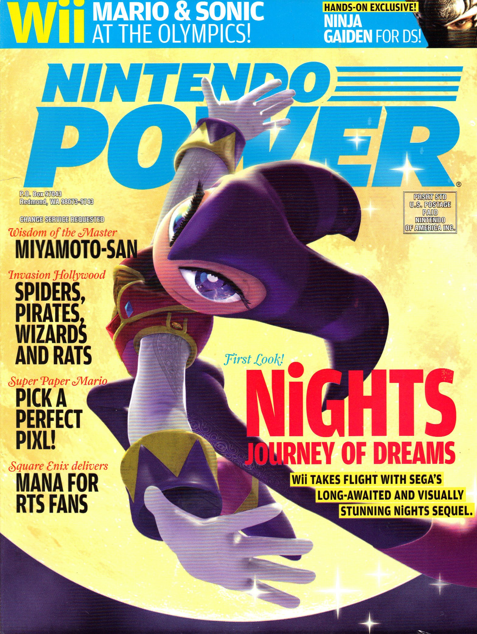 Nintendo Power Magazine June 2007 #216: various: Amazon.com ...