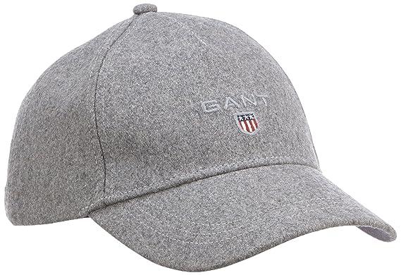 Gant Melton Cap, Gorra de béisbol para Hombre, Grau (Grey Melange 93) Talla única: Amazon.es: Ropa y accesorios
