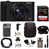 Sony Cyber-shot DSC-HX90V Digital Camera with 32GB Deluxe Accessory Bundle