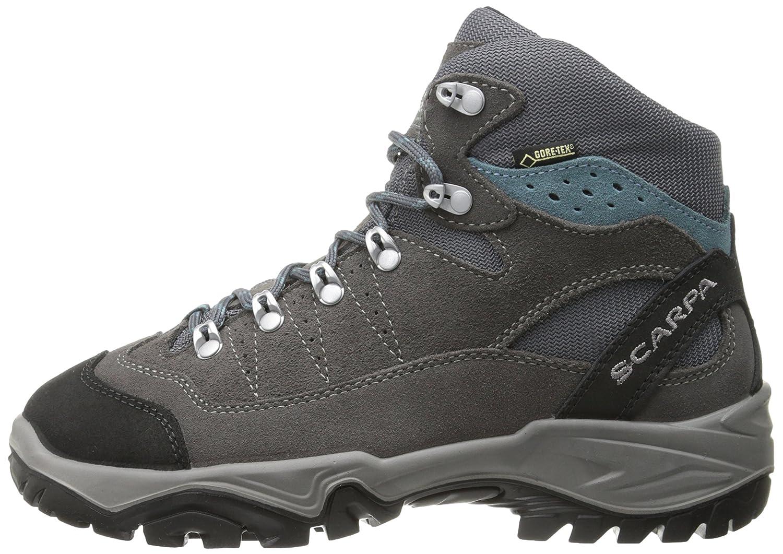 SCARPA Women's B00LM6PKLK Mistral GTX Hiking Boot B00LM6PKLK Women's 42 M EU / 10 B(M) US|Smoke/Polor Blue 75854a