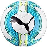 PUMA Fußball Evopower 6.3 entrenador MS, White/Atomic Blue/safety Yellow, 3, 082563 01