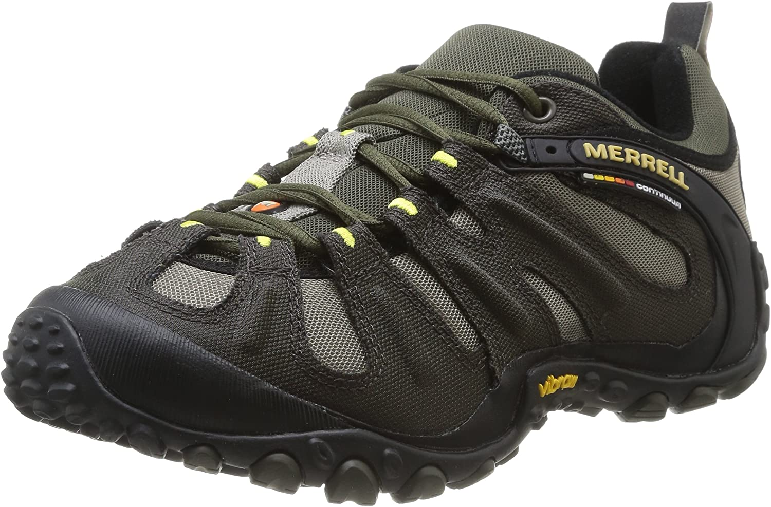 Merrell Men s Chameleon Slam II Walking Shoe, Orange – 9 D M US