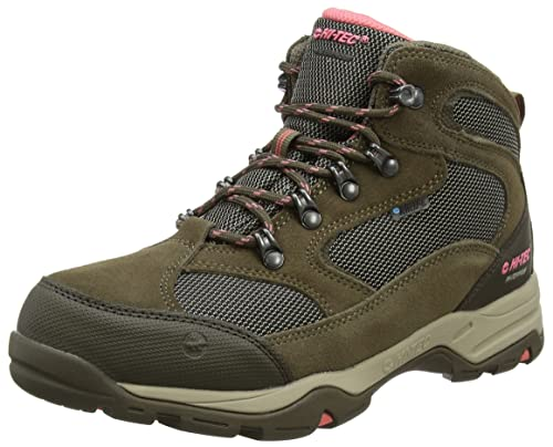 Hi-Tec Women's Storm Waterproof High Rise Hiking Boots, Beige (Taupe/Dune