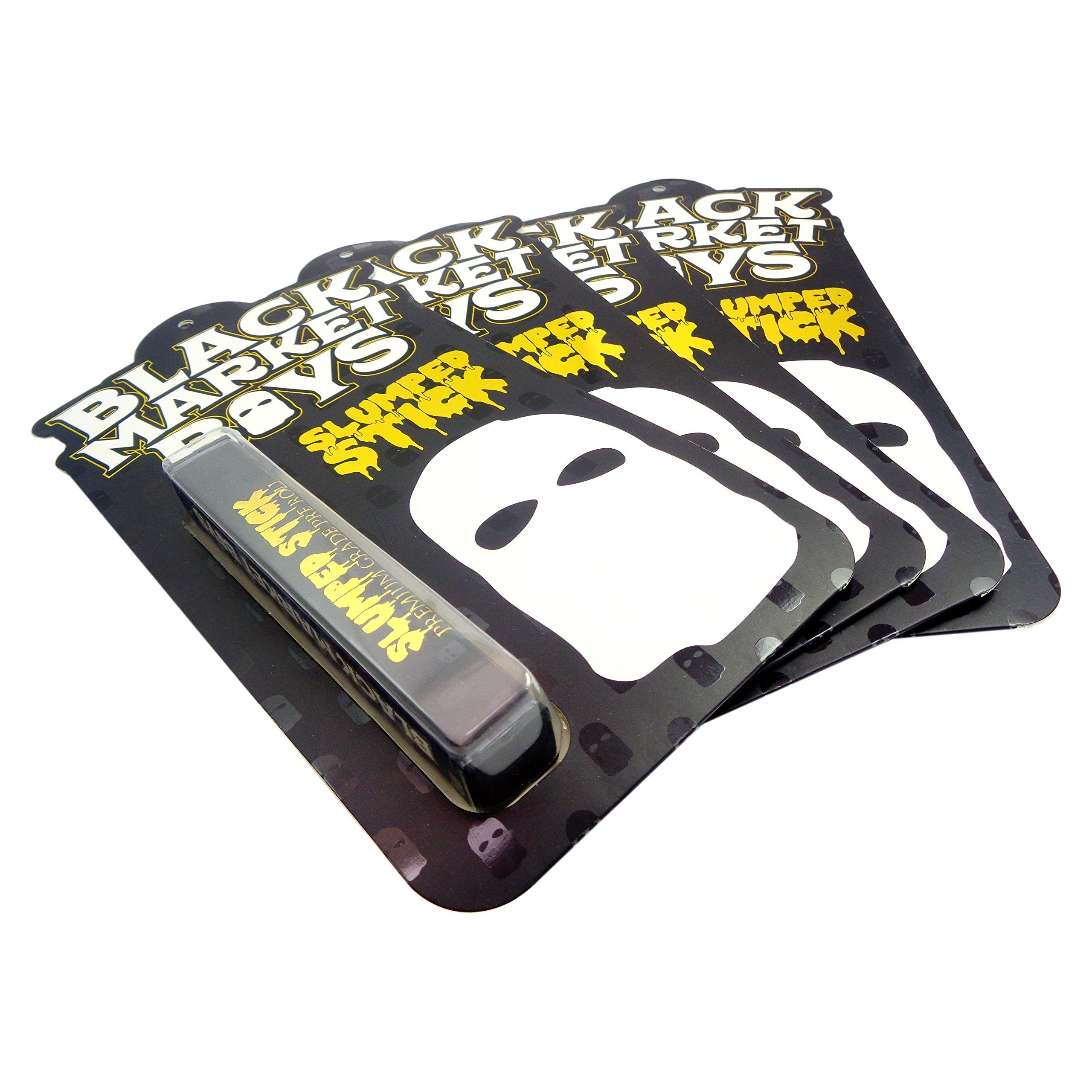 25 Black Market Boys XL Premium Shatter Labels Pre-roll Tube Plastic Blister Packaging Childproof Child Resistant Design TUBES INCLUDED