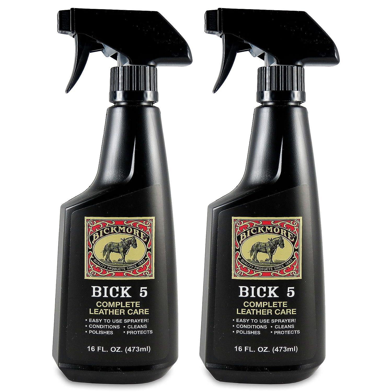 Bick 5レザークリーナー&コンディショナー16オンススプレー – Bickmore Completeレザーケア 16 oz (2-Pack) BIC10FPR1042 B077DRHYXY  16 oz (2-Pack)