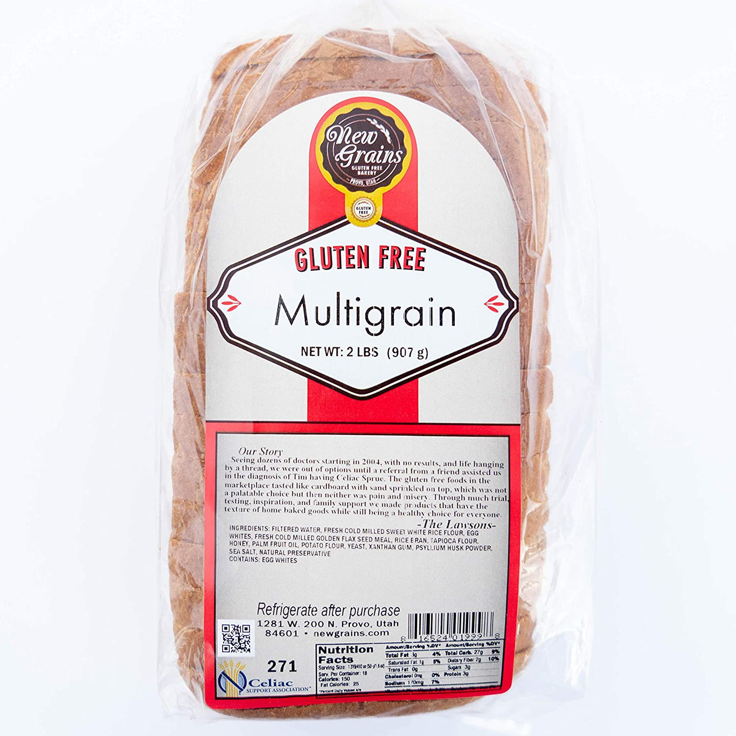 """Image result for """"multigrain"""" written on a bread's packaging."""