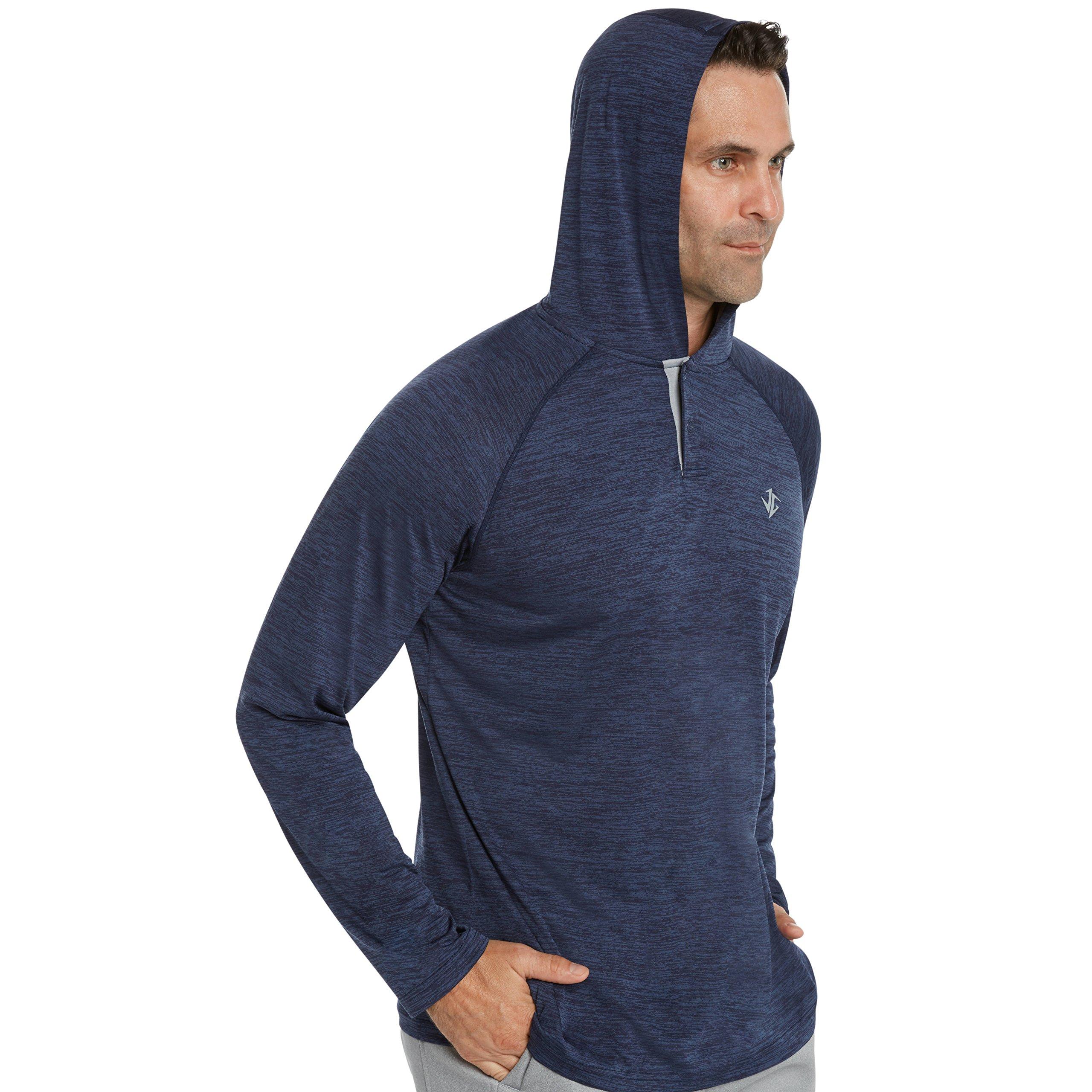 Jolt Gear Mens Hoodies Pullover - Long Sleeve Casual Hoodie for Men - Lightweight Thin Hooded Sweater T Shirt by Jolt Gear