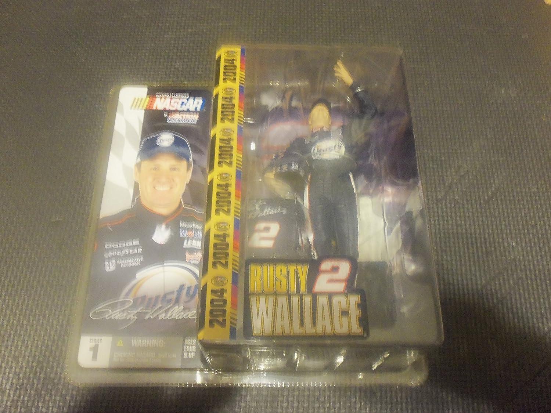 McFarlane NASCAR Series 1 Rusty Wallace #2 VARIANT No Sunglasses