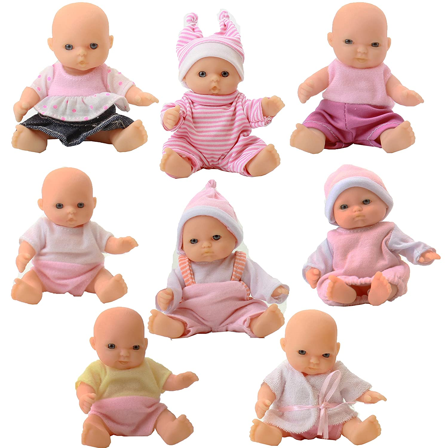 8 Huggable and Cute Mini Dolls Image