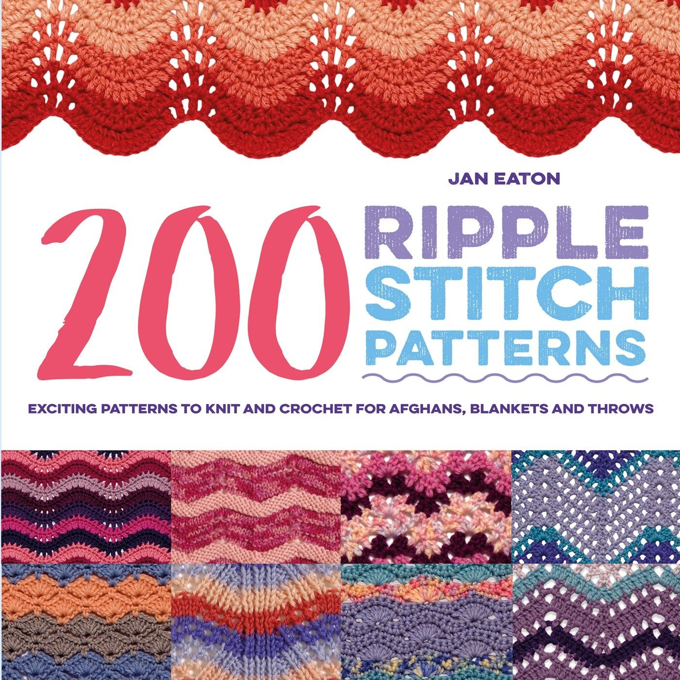 200 Ripple Stitch Patterns Exciting Patterns To Knit And Crochet