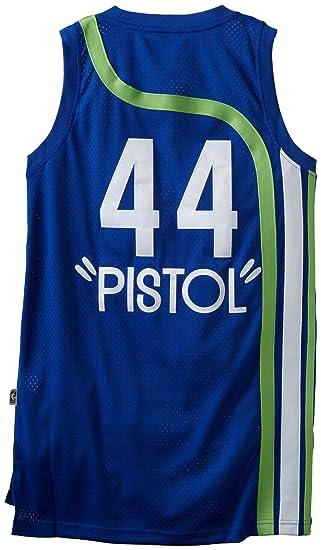 Amazon.com  Pistol Pete Maravich Throwback Basketball Jersey  Sports ... 63c2b5c22