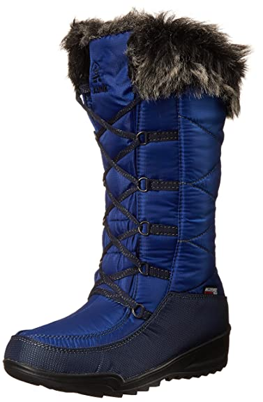 Kamik Women's Porto Insulated Winter Boot, Cobalt, ...