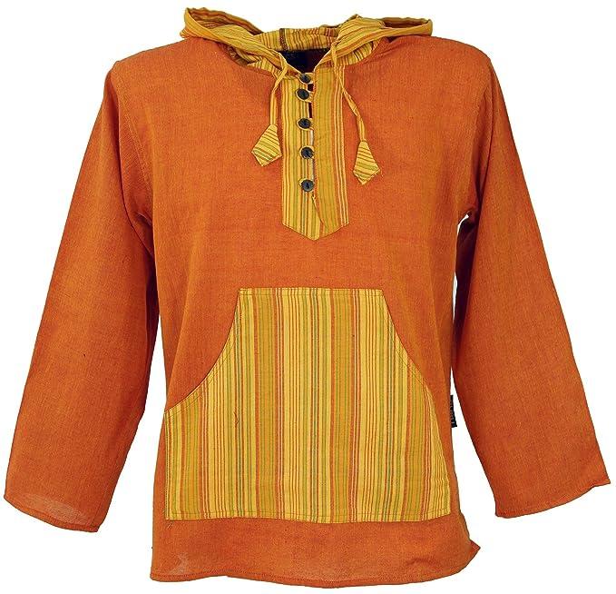 GURU-SHOP, Camisa de Yoga, Camisa Goa, Sudadera Patchwork ...