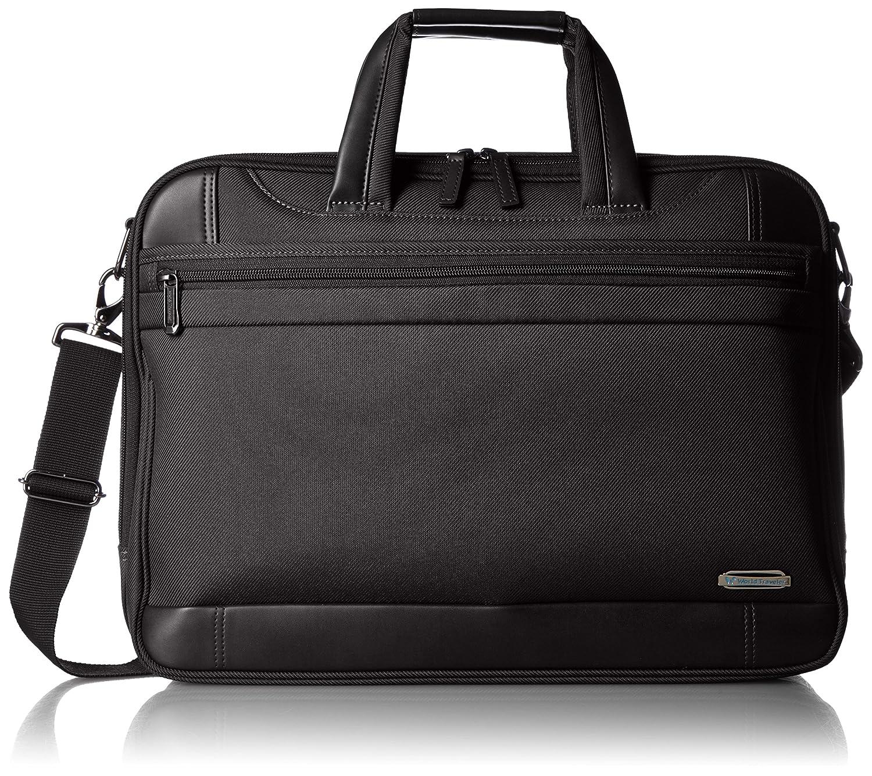 [ワールドトラベラー] World Traveler ビジネスバッグ プロビデンスビジネス ショルダーベルト付 B01A6PM83U  ブラック