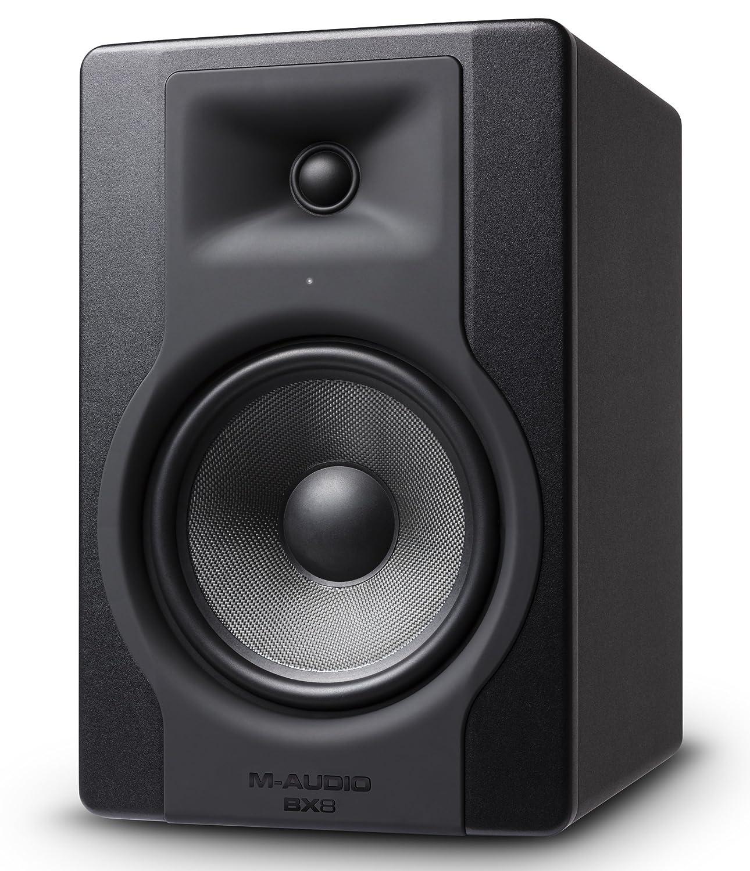 M-Audio BX8 D3 - Monitor profesional de estudio bidireccional: Amazon.es: Instrumentos musicales