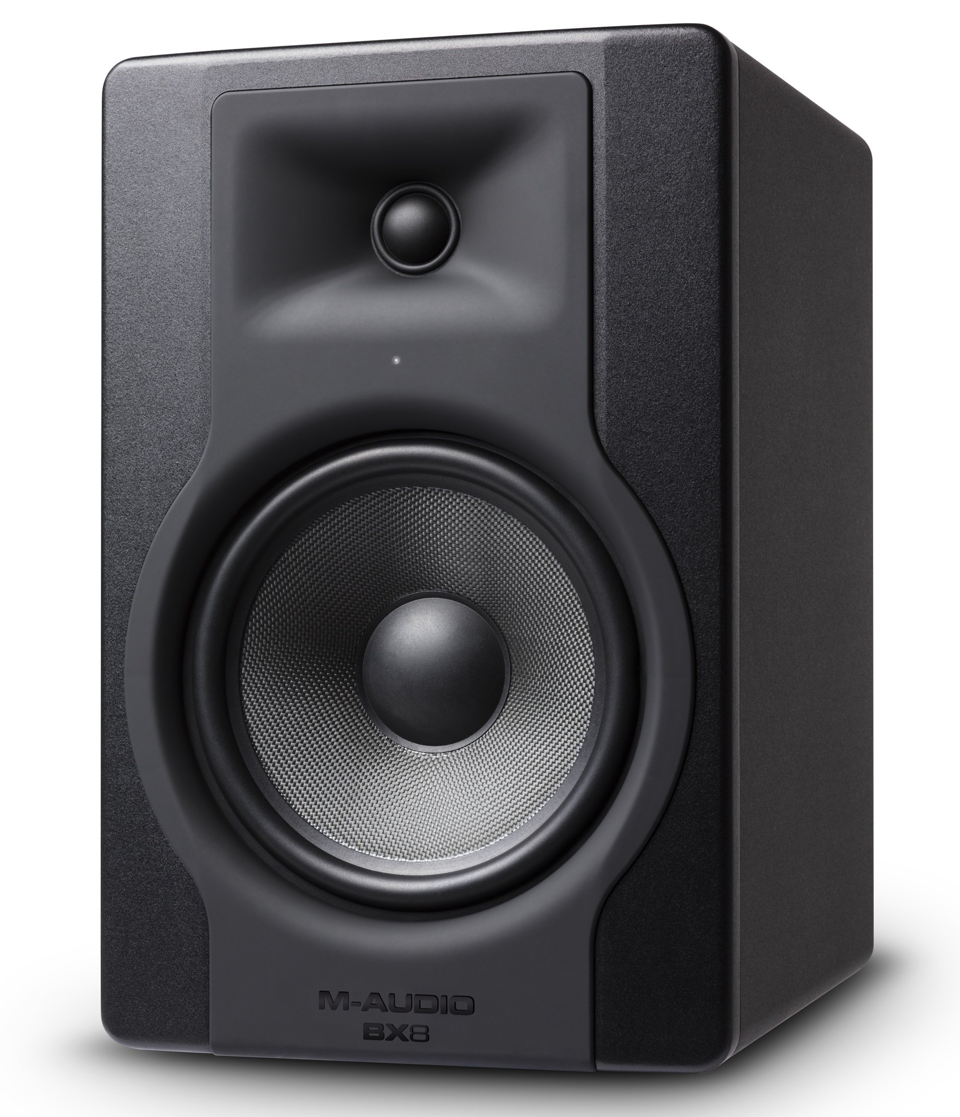 M-Audio BX8 D3 | Professional 2-Way 8'' Active Studio Monitor Speakers for Music Production and Mixing, With Onboard Acoustic Space Control