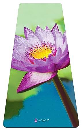 Esterilla premiun de yoga y toalla suave, caucho natural, biodegradable, respetuoso con el