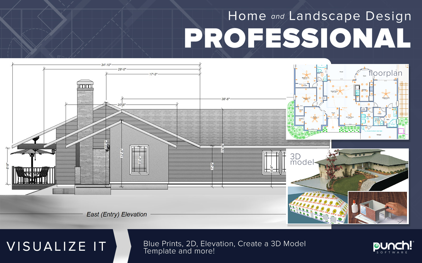 Modern Punch Professional Home Design Suite Frieze - Home Decorating ...