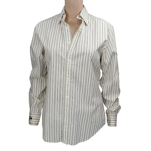 Polo Ralph Lauren – Camisas – Rayas – Manga larga – para mujer