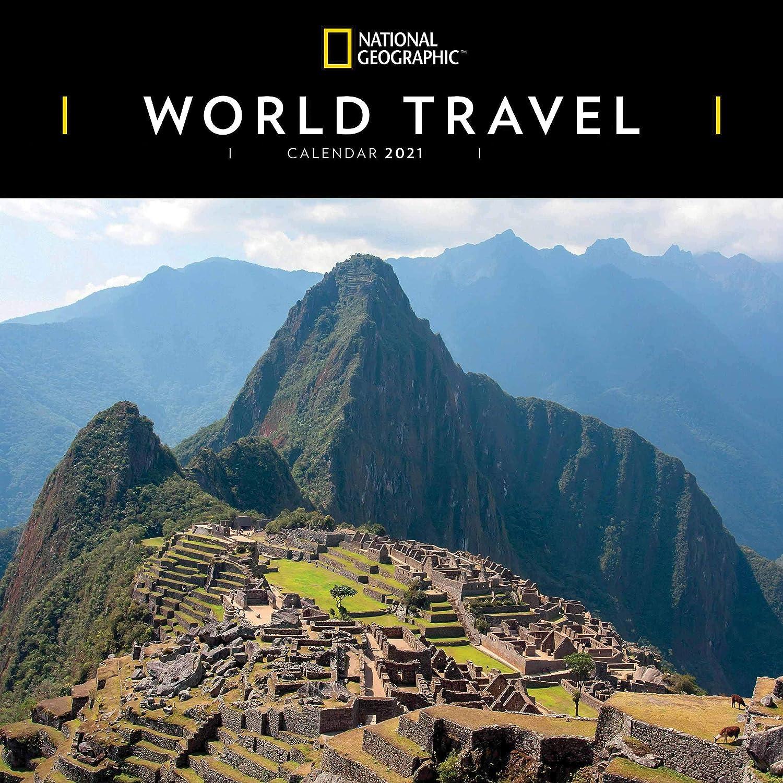 World Travel National Geographic Square Wall Calendar 2021: Amazon.es: Oficina y papelería