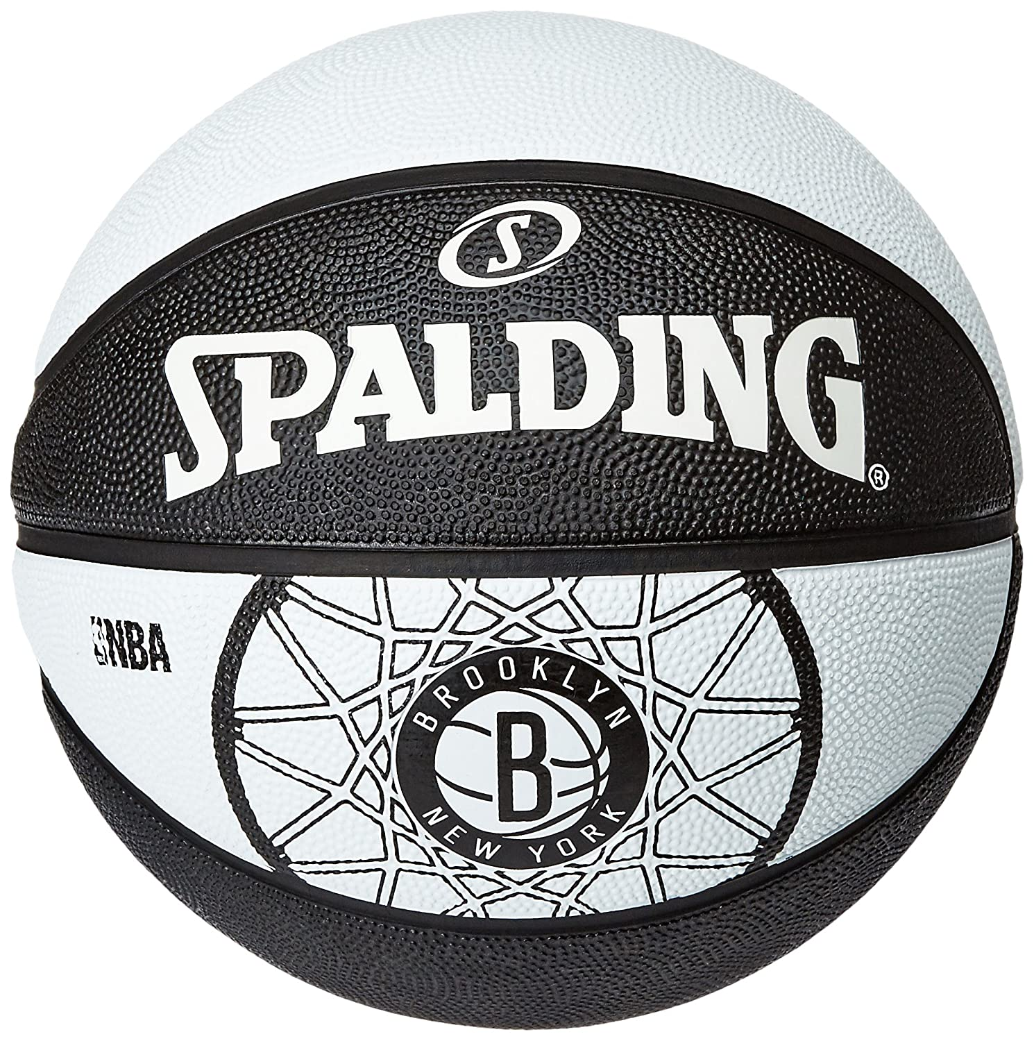 Spalding Brooklyn Nets Basketball-Ballon Taille 7 3001587012317