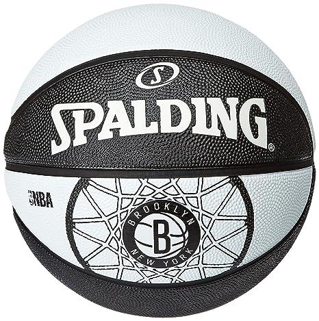 Spalding Brooklyn Nets - Pelota de Baloncesto, Talla 7: Amazon.es ...