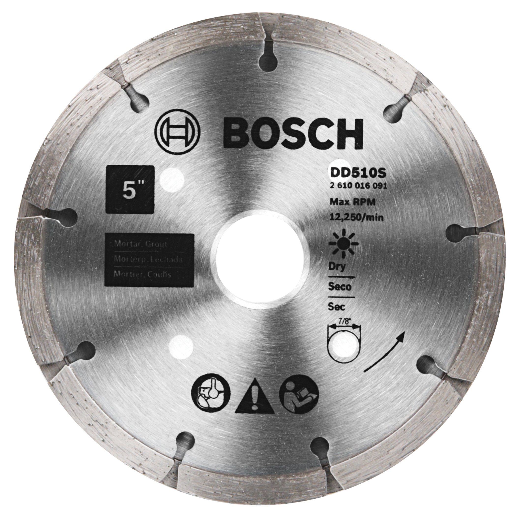 Disco de Diamante BOSCH DD510S Hoja punteadora de 5 pulg. para sandwich