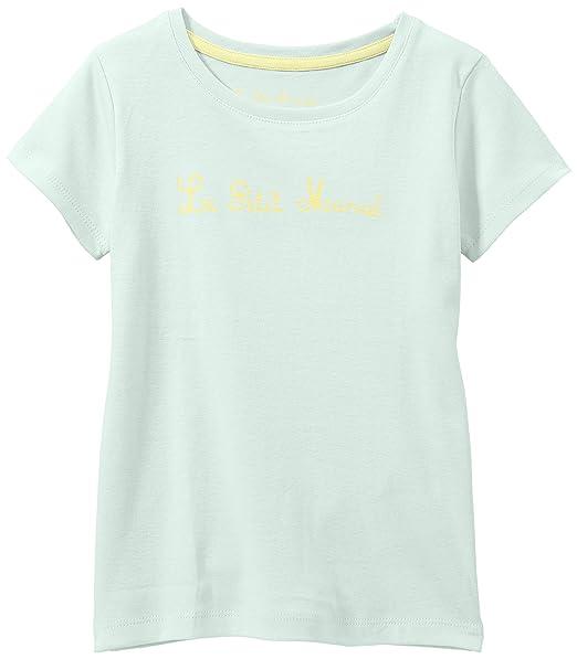 Little Marcel Teloca Ef - Camiseta para niñas, color blue - bleu (bleu pastel