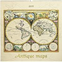Antique Maps 2019 - Antike Landkarten - Geschichte - Bildkalender (42 x 42)