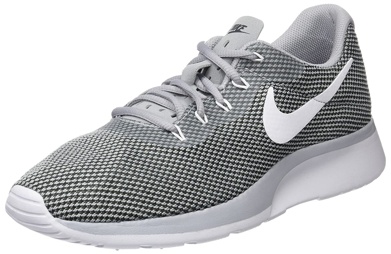 gris (Wolf gris blanc-noir) 45 EU Nike Tanjun Racer, paniers Basses Homme