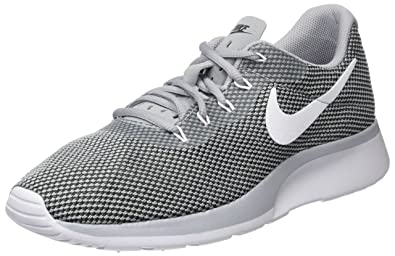 save off df732 072b9 Nike Tanjun Racer, Sneakers Basses Homme, Gris (Wolf Grey White-Black