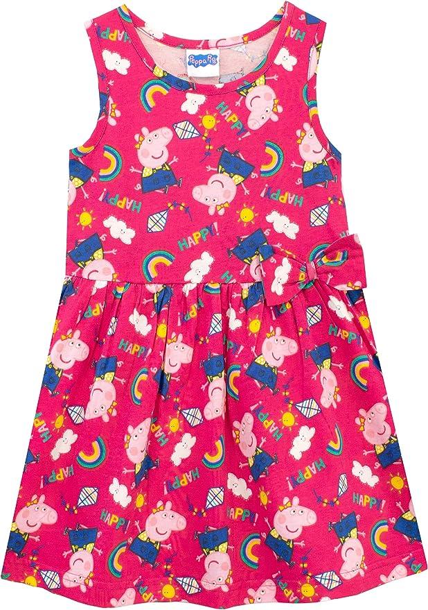 Peppa Pig Vestido para Niñas: Amazon.es: Ropa y accesorios