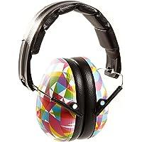 Baby Banz EMGO, Protectores De Oídos, Geo Print, 2-12+ Años