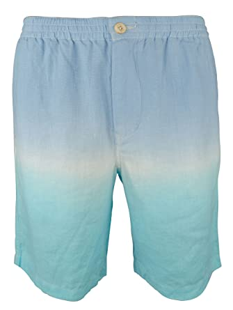 5d9b3a53bb Tommy Bahama Men's Fade Away Beach Linen Shorts-HB-M at Amazon Men's  Clothing store: