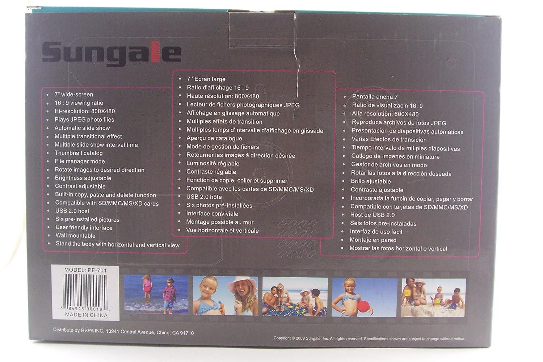 Amazon.com : Sungale PF-701 7-Inch Digital Photo Frame : Electronics
