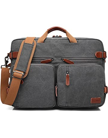 CoolBELL Convertible Backpack Messenger Bag Shoulder Bag Laptop Case  Handbag Business Briefcase Multi-Functional Travel 0493755cc5819