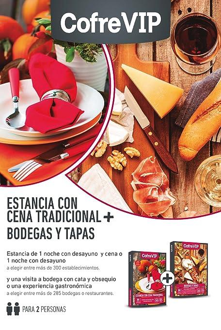 Caja Regalo Estancia con Cena Tradicional + Bodegas y Tapas CofreVip