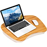 LapGear Bamboo Lap Desk - Natural Bamboo - Fits up to 17.3 Inch Laptops - Style No. 91697