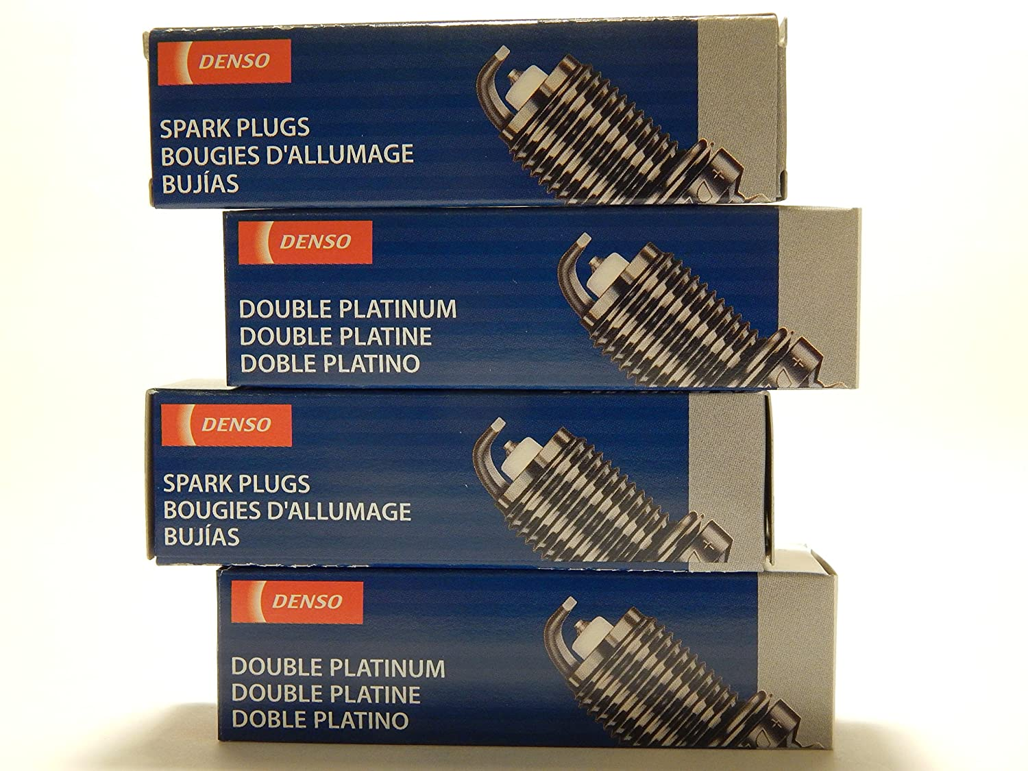 Amazon.com: 4 PCS *NEW* -- DENSO #3174 -- DOUBLE PLATINUM Spark Plugs -- PK16PR-P11: Automotive