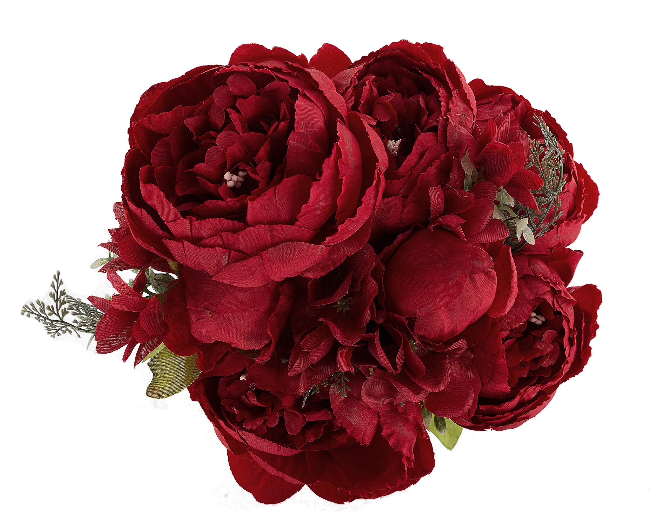 Astonishing Ezflowery 1 Pack Artificial Peony Silk Flowers Arrangement Bouquet For Wedding Centerpiece Room Party Home Decoration Elegant Vintage Perfect For Interior Design Ideas Clesiryabchikinfo