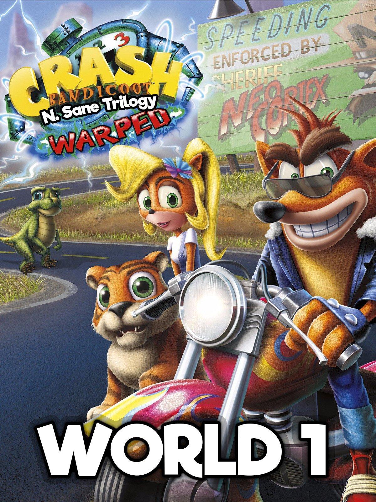 Watch Crash Bandicoot N Sane Trilogy Warped World 2 Prime