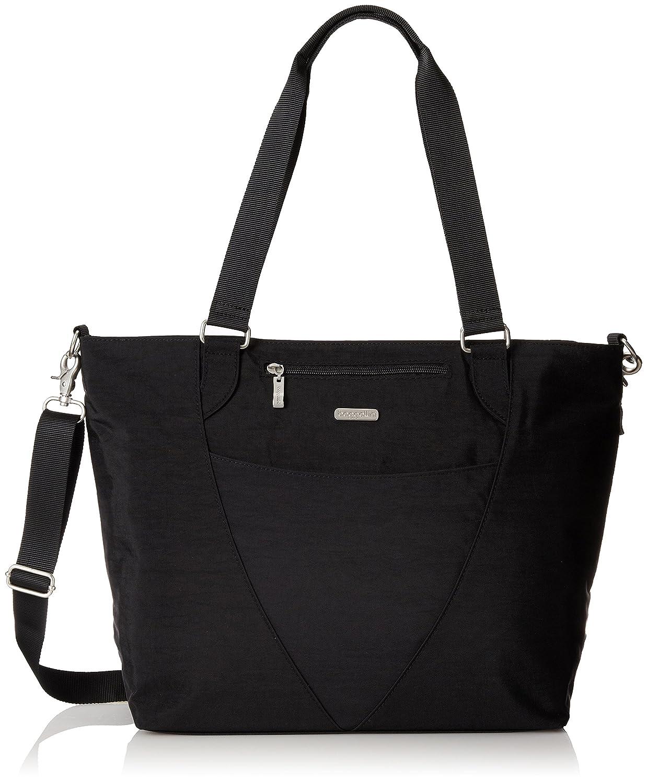 a98e096eb Amazon.com: Baggallini Avenue Tote, Black, One Size: Clothing